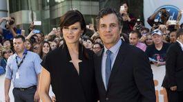 Mark Ruffalo a jeho manželka Sunrise Coigney