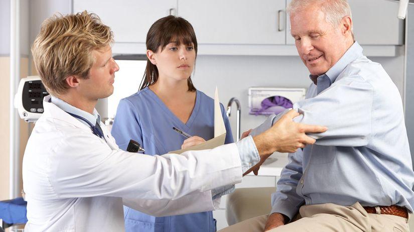 lekár, pacient, prehliadka, prevencia