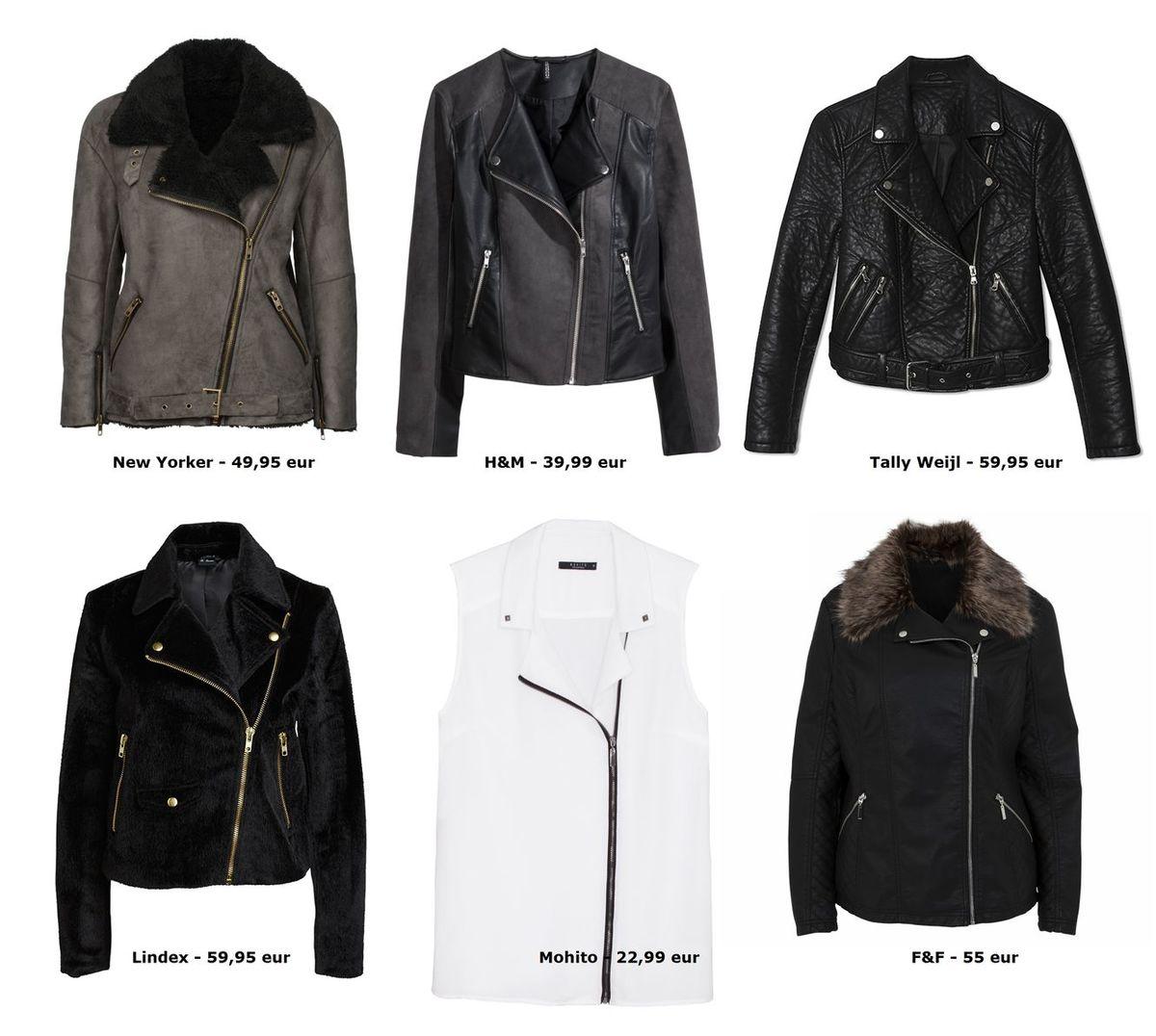 93417c3beab3 Kľúčový kúsok jesene  Zaobstarajte si  biker-jacket - máme 24 tipov ...