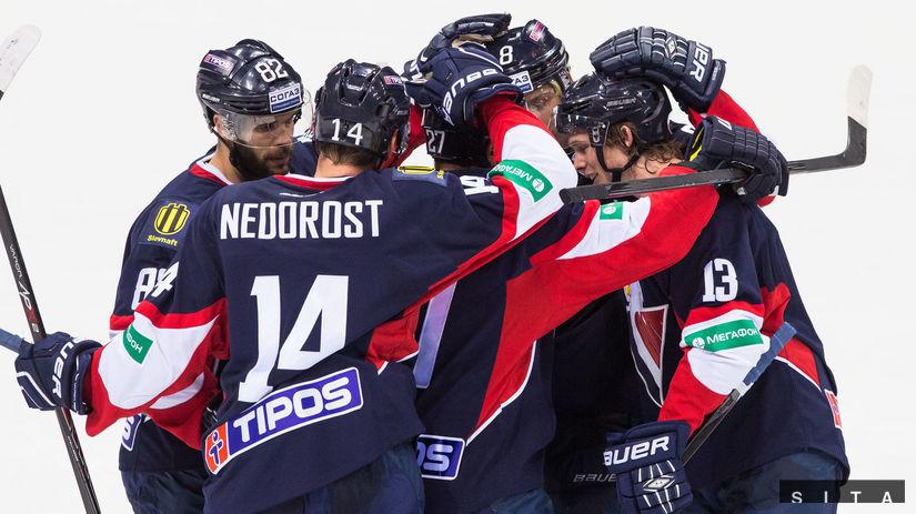 Hokejisti Slovana Bratislava