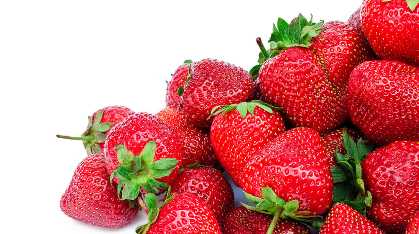 jahody, vitamín C