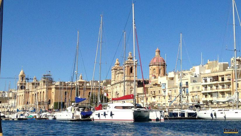 Malta, Valeta, prístav
