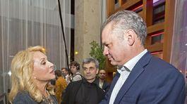 Zdena Studenková a Andrej Kiska