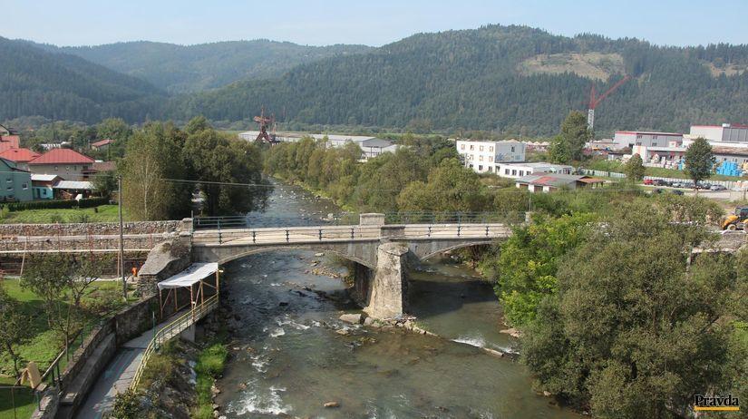 most, Krásno nad Kysucou, Kysuca, rieka