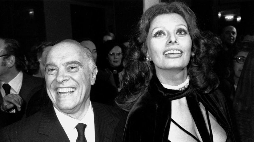 Rok 1976: Herečka Sophia Loren