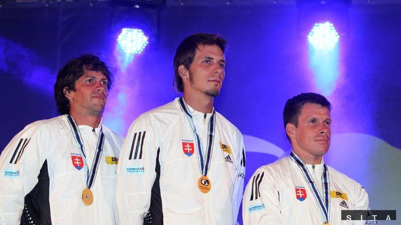 Alexander Slafkovský, Matej Beňuš, Michal...