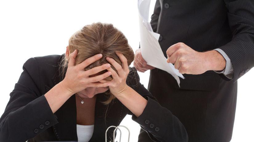 mobbing, zamestnanie, pracovný vzťah