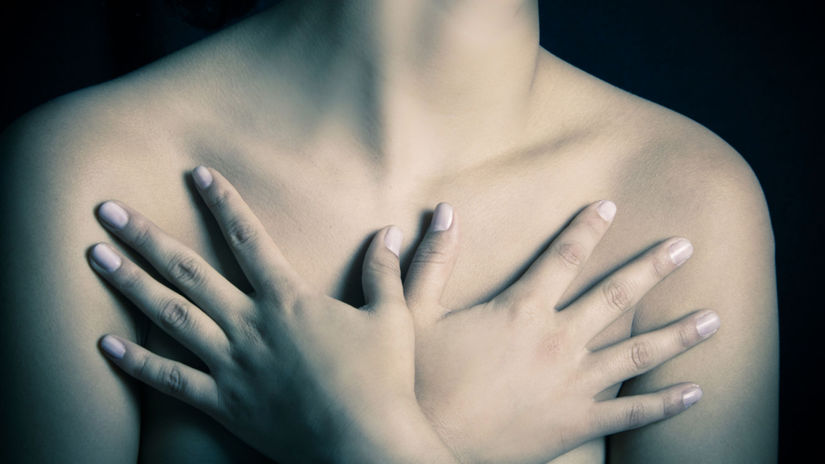 prsia, zdravie, bolesť