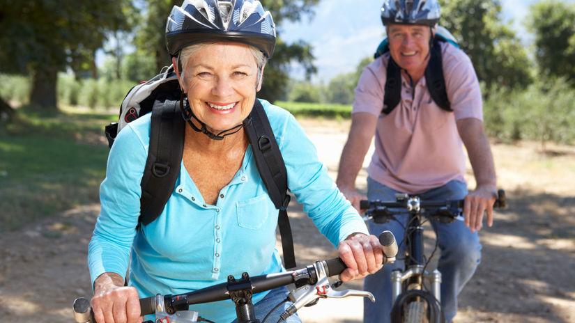 seniori, staroba, bicyklovanie, cyklistika,...