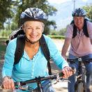 seniori, staroba, bicyklovanie, cyklistika, dôchodcovia,