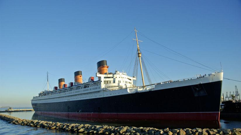 Queen Mary, loď, parník