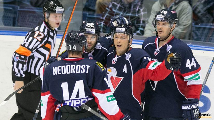 Slovan, hokej, radosť