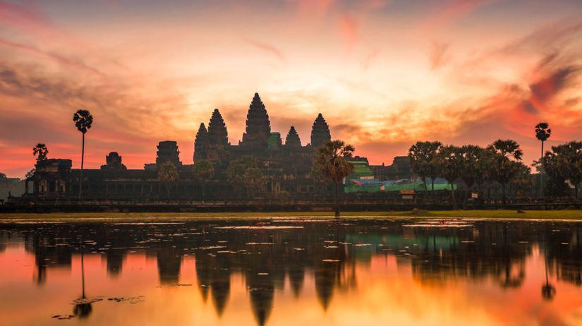 Kambodža, chrám