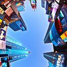 domy, budovy, New York, Times Square