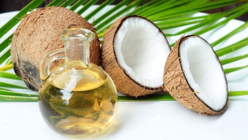 kokos, kokosový olej, relax, zdravie