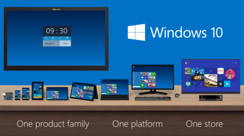 Microsoft, Windows 10, operačný systém