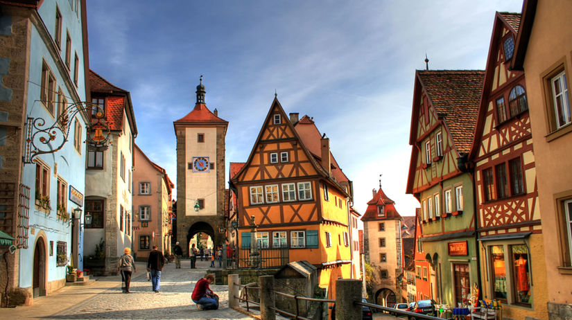 romanticka cesta bavorsko nemecko