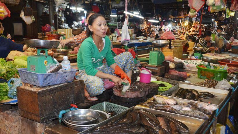ryby, práca, spracovanie, trh, lov, morské...