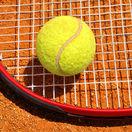 tenis, tenisová raketa, tenisová loptička