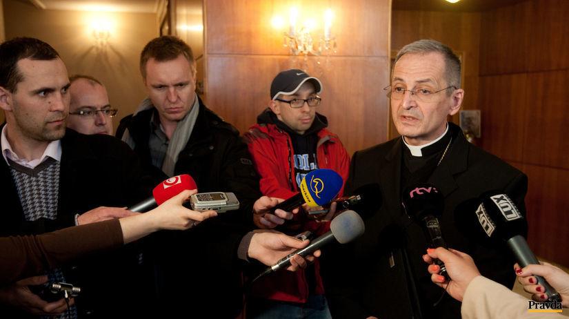 arcibiskup, Stanislav Zvolenský, stretnutie...
