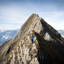 Švajčiarsko, vrch, Alpy, Gamsberg