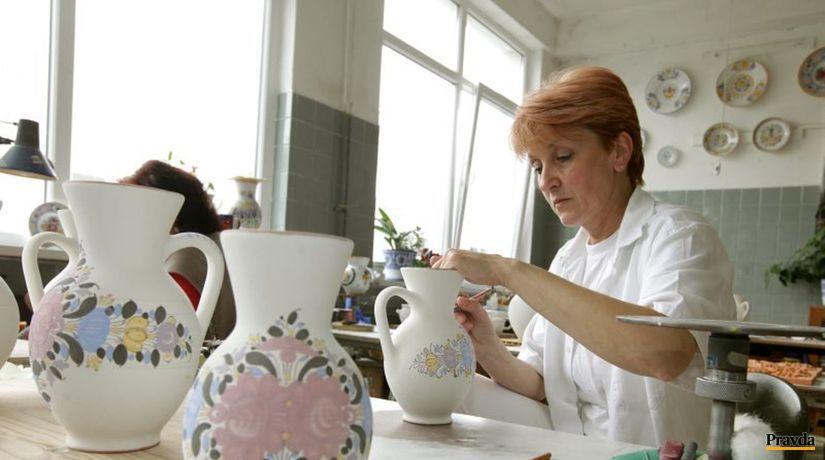 slovenská ľudová majolika, modranská keramika,...
