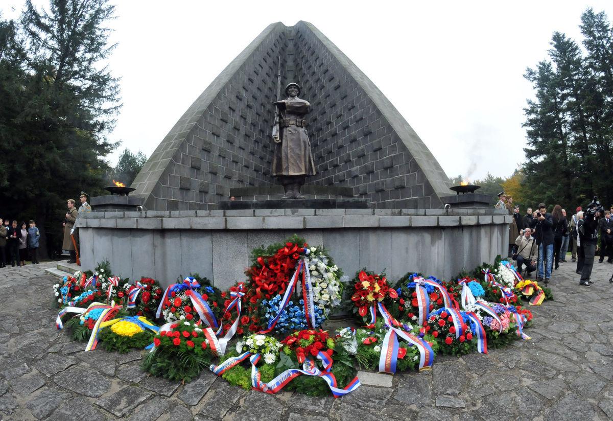 Dukla, pamätník