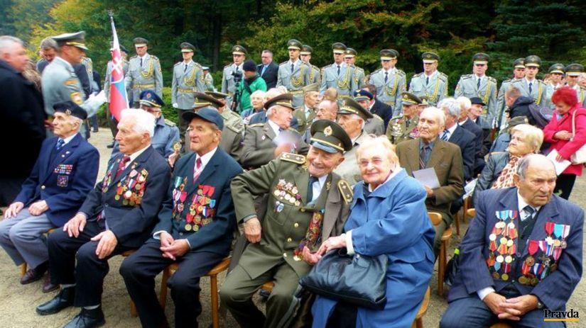 Dukla, vojnoví veteráni