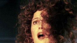 Rok 1984: Sigourney Weaver na snímke z filmu Krotitelia duchov.