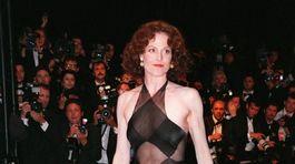 Rok 1998: Herečka Sigourney Weaver