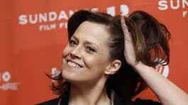 Rok 2012: Sigourney Weaver na festivale Sundance.