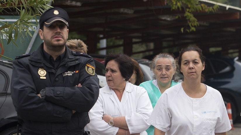 Španielsko, ebola, Madrid, zdravotné sestry,