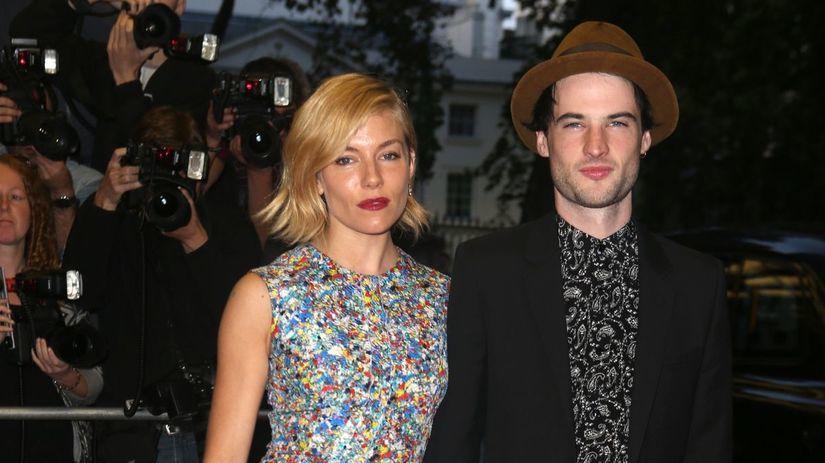 Sienna Miller a jej manžel Tom Sturridge