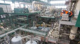Mochovce, strojovňa, turbogenerátory