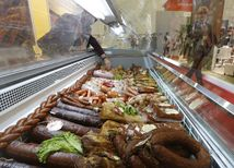 potraviny, Moskva, Rusko