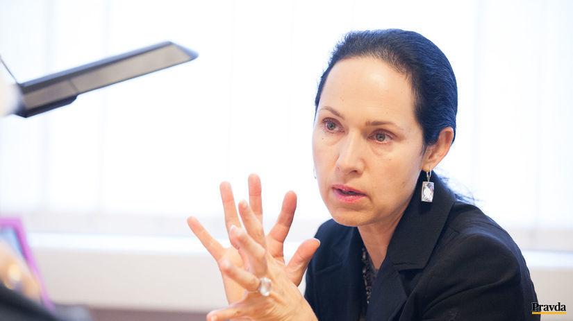 Lucia Kurilovská, rektorka, policajná akadémia