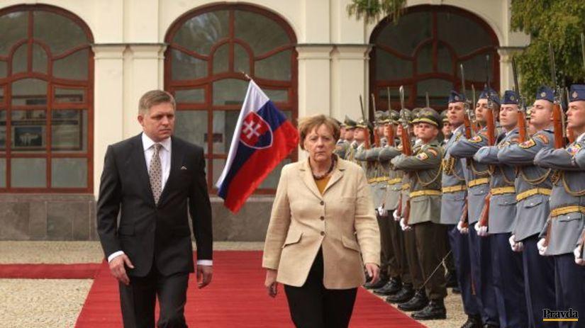 Merkelová, Fico
