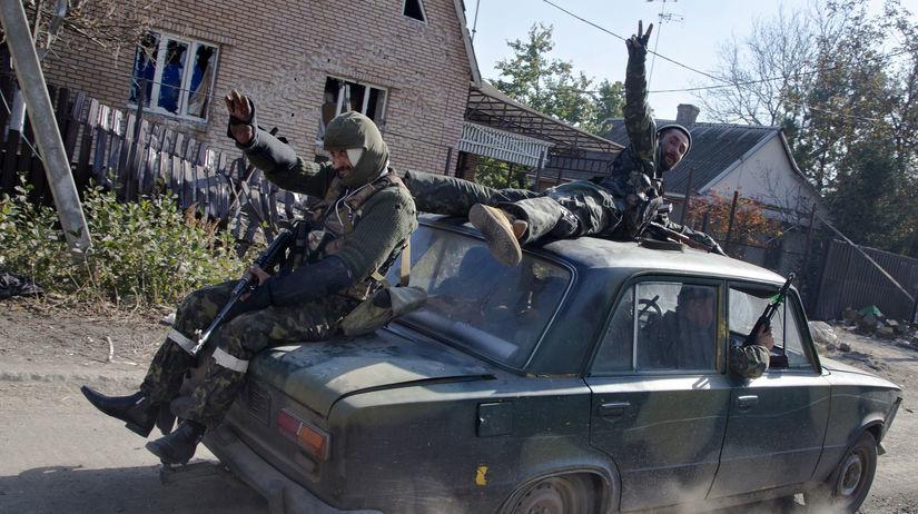 Ukrajina, Doneck, proruskí separatisti,...