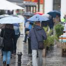 počasie, dážď