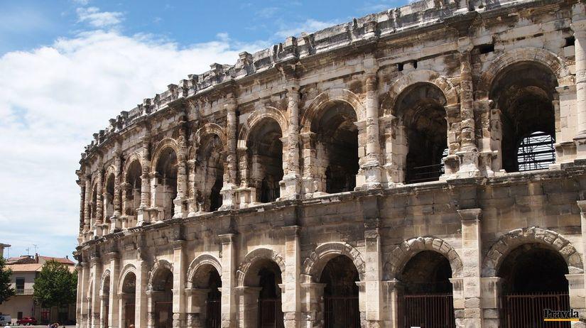 Nimes, amfiteater,