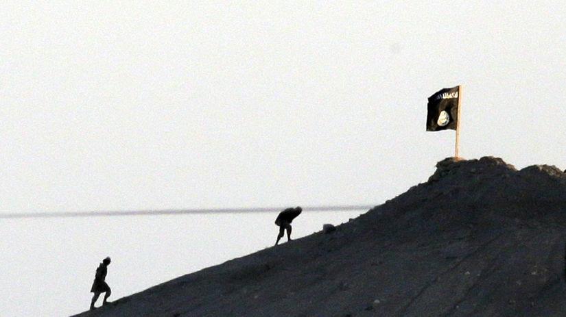 Sýria, Kobani, Islamský štát, islamisti, vlajka