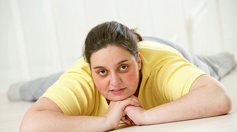 žena, obezita