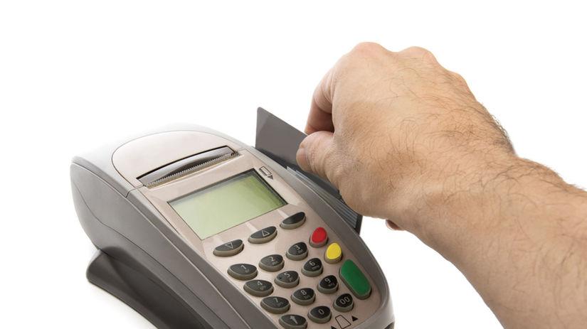 platobný terminál, kontaktná platba, platobná...