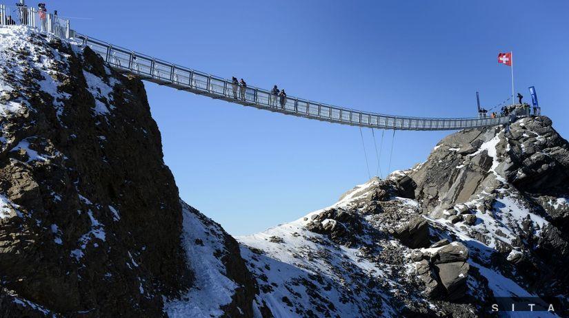 Svajciarsko, hory, most,
