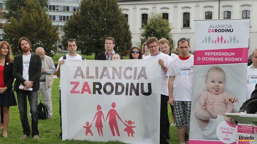 Aliancia za rodinu, referendum