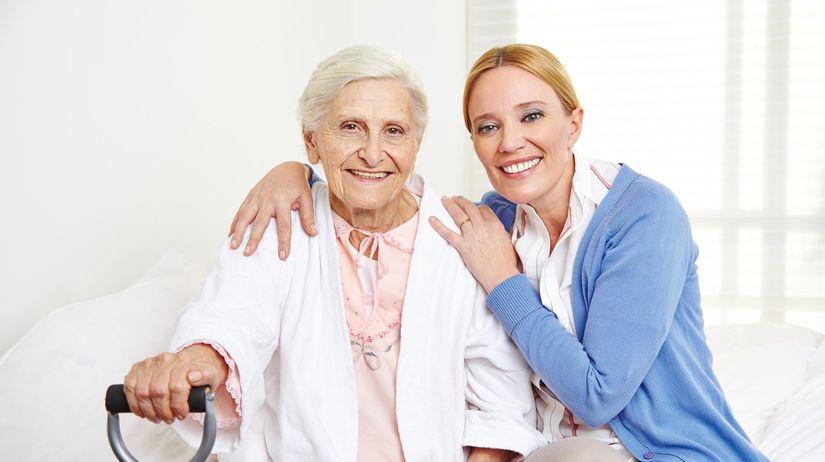 dôchodkňa, matka, dcéra