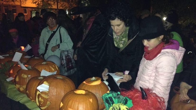 Halloween, tekvice, strašidlá, Bratislava,...