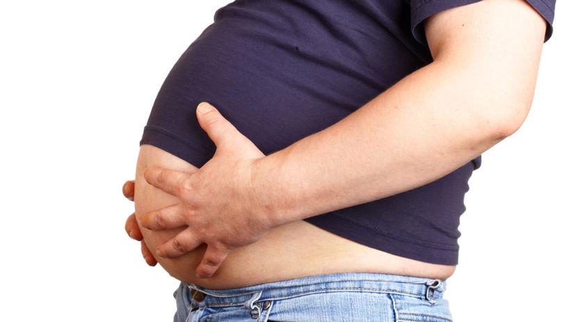 pivné brucho, obezita
