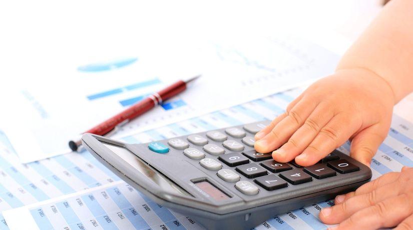 kalkulačka, pero, spis, čísla, účtovníctvo,...