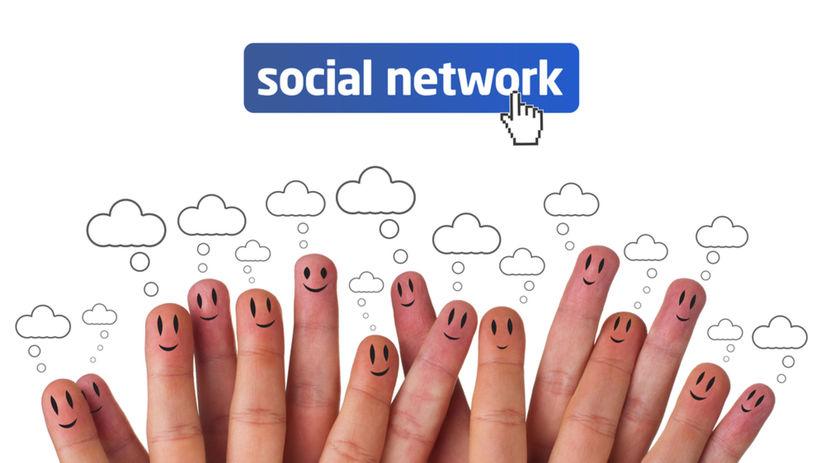 sociálna sieť, Facebook, Twitter, komunikácia,...